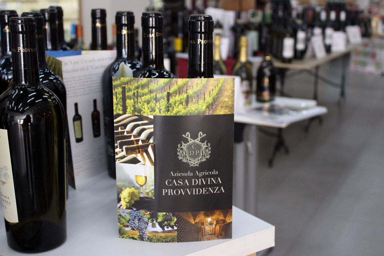 Vino italiano gran cosecha