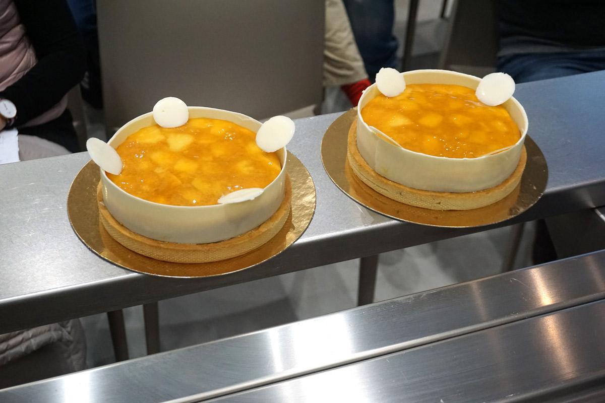 Elaboracion de pasteles con la maquinaria Irinox