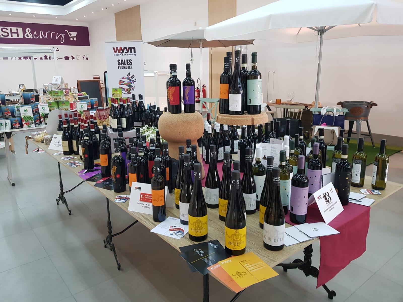 Selección de vinos gourmet