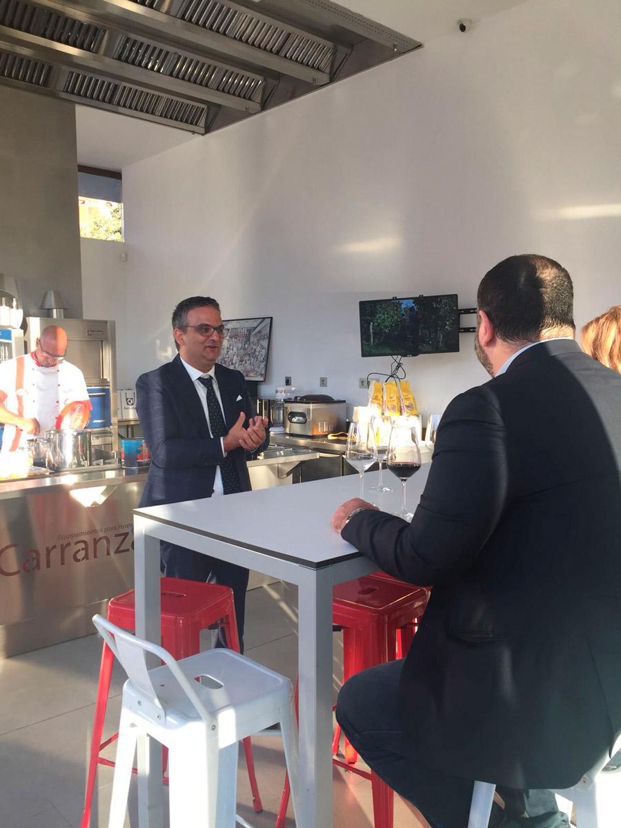Formacion comida italiana en carranza hosteleria