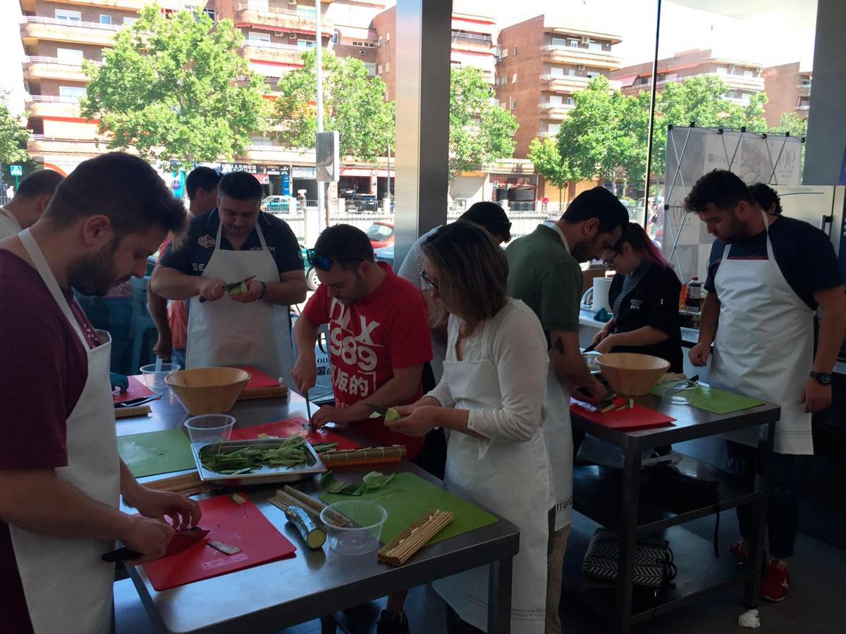 Formación sushi con Carlos Navarro