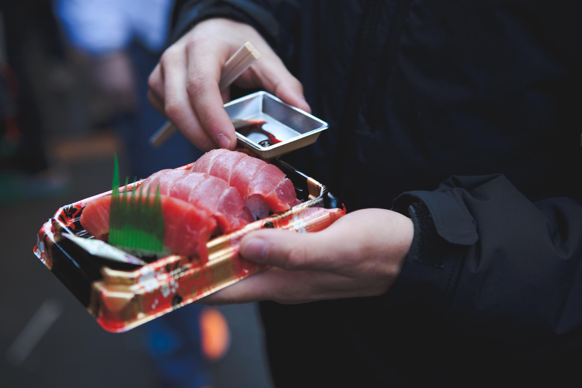 Sushi tipo Nigiri