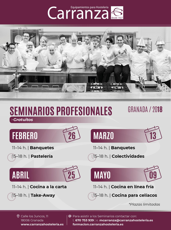 seminarios profesionales de carranza hosteleria